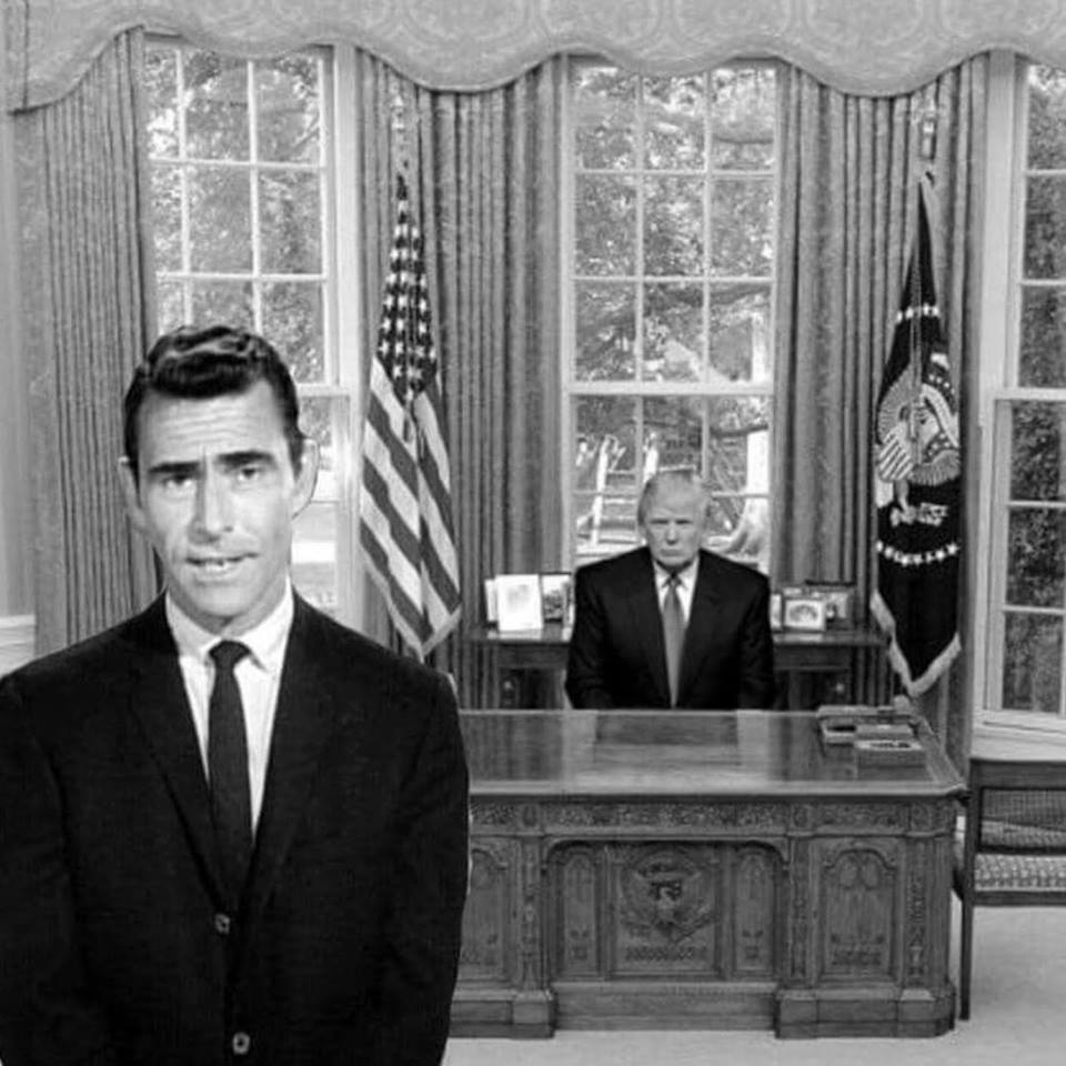 Trump White House Oval Office Twilight Zone