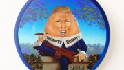 Humpty Trumpty sat on the wall - Donald Trump